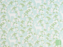 Apple Garden Green Wallpaper