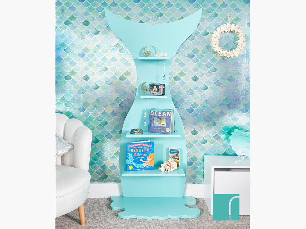 Splash Mermaid Shelves Mermazing Mermaid Bedroom Reroom