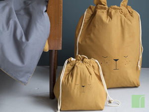 Small Brown Bear Storage Bag