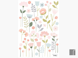 Bloom Wall Stickers A3