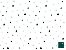 Green-triangle-wallpaper