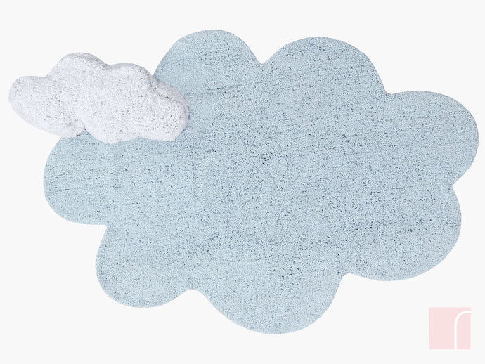 Blue Cloud Rug