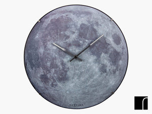 Blue Moon Dome Clock