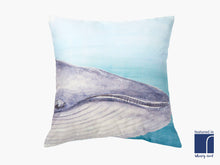 Large Blue Whale Cushion