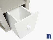Boat Shelves White Drawer