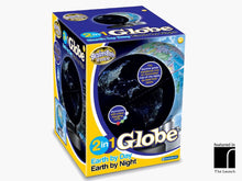 The Earth By Day And Night Globe Boxed