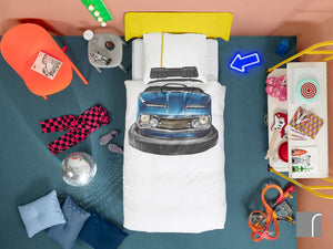 Snurk Bumper-Car-Bedding-Set
