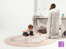 Nude Butterfly Rug