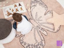 Washable Butterfly Rug