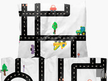 Car-track-bedding-set