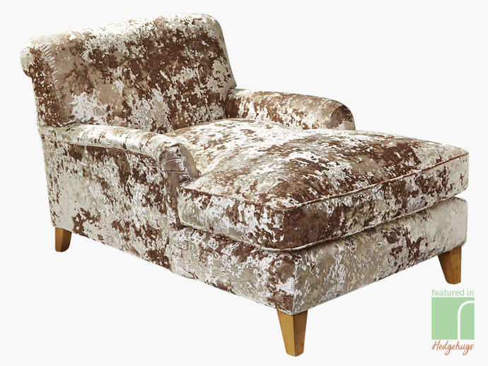 Gold Chaise Lounge