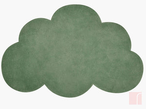 Cloud Rug Dark Green