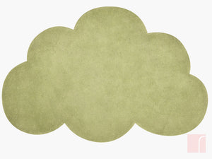 Cloud Rug Green