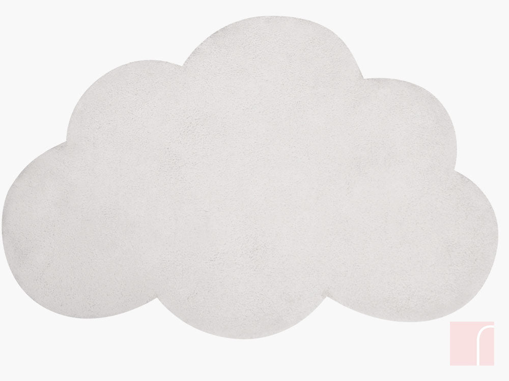 Cloud Rug White