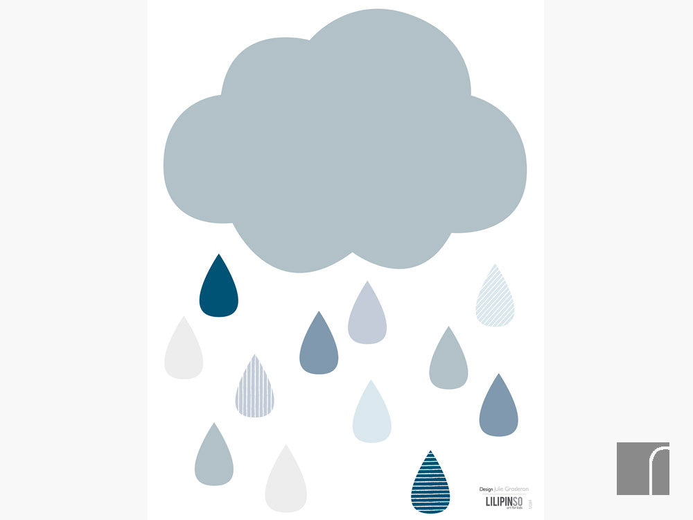 Cloud-and-raindrop-wall-stickers-lilipinso