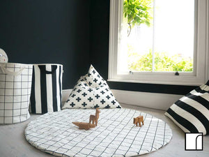 Black And White Bean Bags