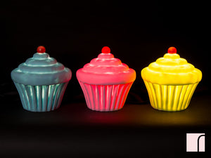 Cupcake Night Lights