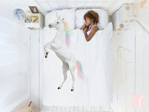 Double-Unicorn-Bedding-Set