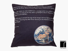 Earth From A Million Miles Cushion Reverse