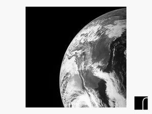 Earth From Juno Print