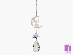 Crystal Fantasy Fairy with wand suncatcher