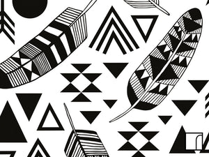 Feathers-and-Geometric-Stickers-close-up