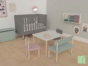 Urban Grey Flexa Play Cot