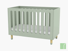 Flexa Play Cot Green
