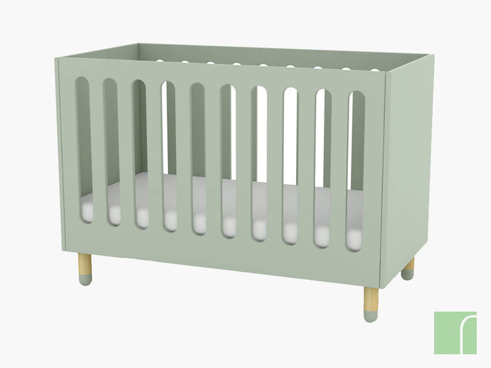 Flexa Play Cot in Green