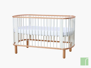 White Flexa Cot Bed