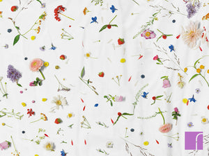 Flower Field Duvet Set Detail