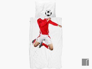 Football-Bedding-Red Snurk
