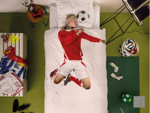 Snurk Football-Bedding-red