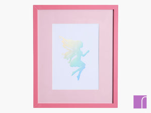 Holographic Fairy Framed Print