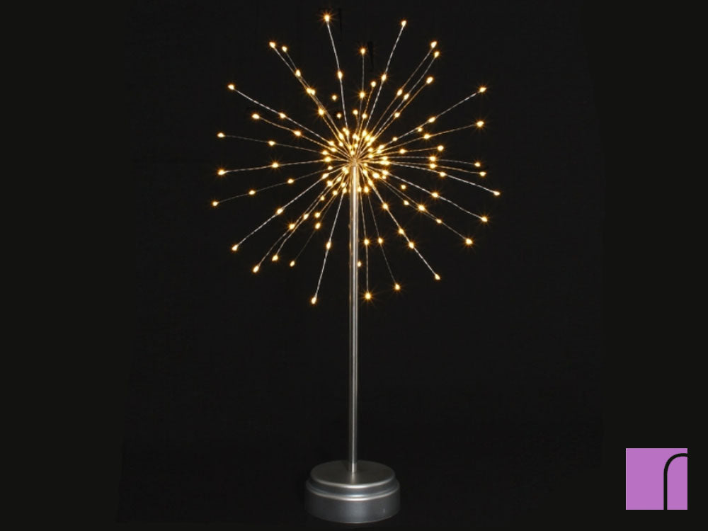 Freestanding Small Starburst Light