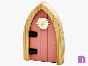 Glow In The Dark Pink Fairy Door