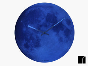 Blue Moon Glow In The Dark Clock