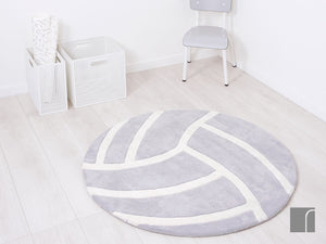 Grey-Volleyball-Rug