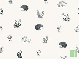 Woodland-animal-Wallpaper