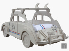 Kids-Herbie-Car-Bed