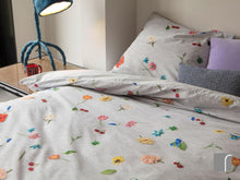 Snurk Knitted-Flowers-Duvet-set
