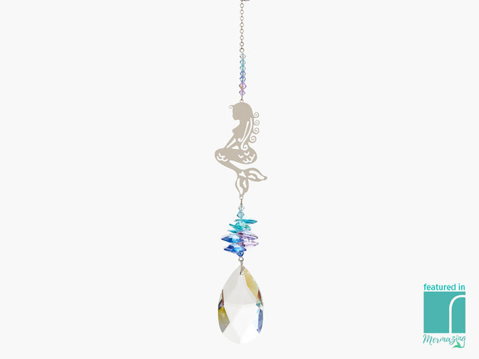 Mermaid Crystal Suncatcher