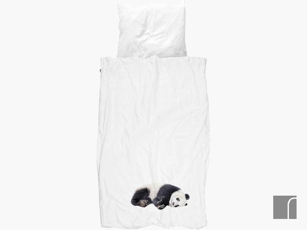 Snurk Lazy-Panda-Single-Bedding