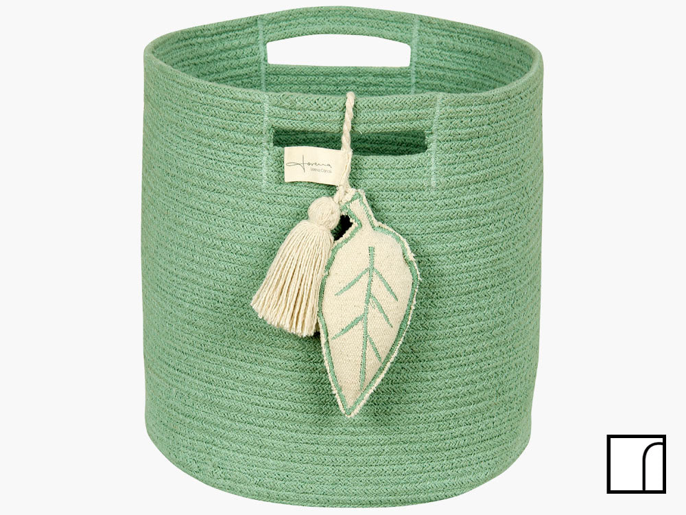 Green Leaf Basket