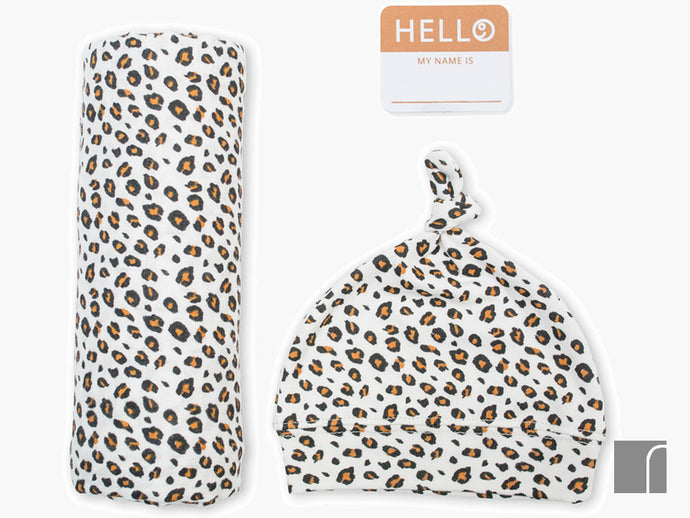 Leopard-print-baby-announcement