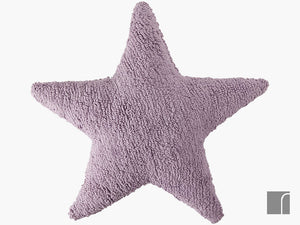 Lilac-Star-Cushion