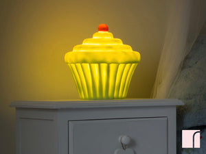 Lime cupcake nightlight