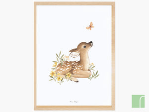 Little-Forest-Fawn-Print-framed