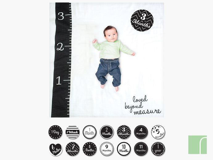 Loved Beyond Measure Baby Milestone Cards
