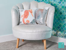 Seahorse cushion on the MyShell chair
